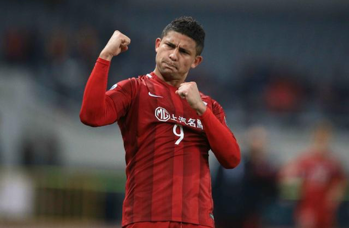 Brazilian Elkeson Named in China World Cup Qualification Squad
