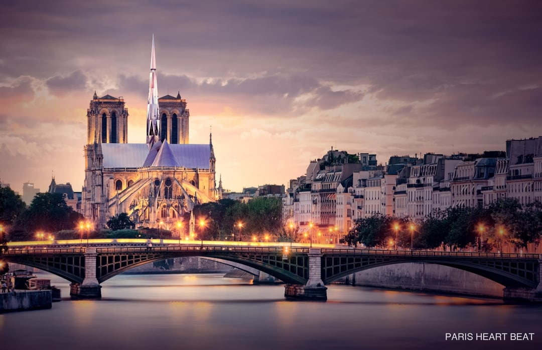 Notre Dame S New Roof Designed By A Chinese Team Thatsmags Com