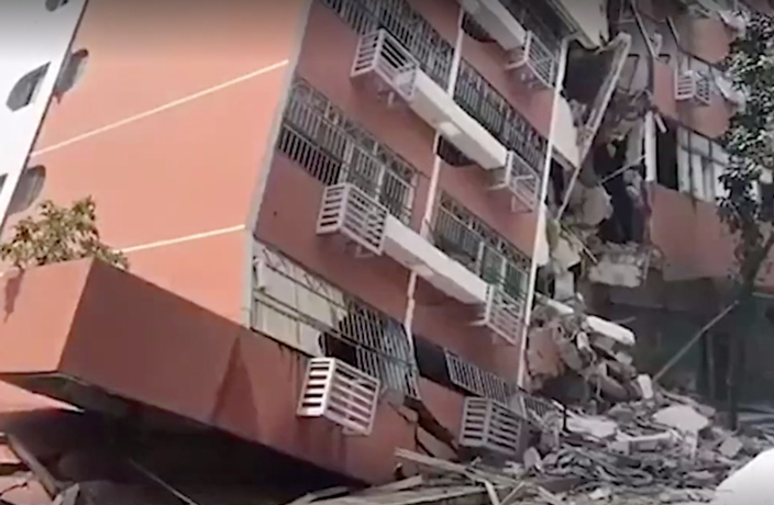 PHOTOS: Residential Building Collapses in Shenzhen