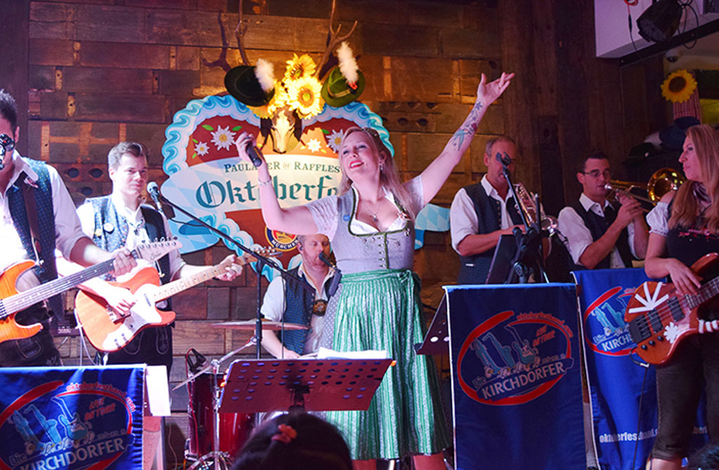 Enjoy a Beer-Filled Oktoberfest Celebration at Paulaner Bräuhaus
