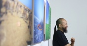 PHOTOS: Cang Xin's Shamanic Artwork Lands at Art23