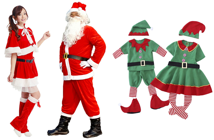 Here's Where to Find Santa Suits & Christmas Costumes in China