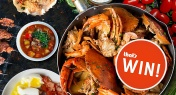 WIN! Autumn Crab Feast for Two