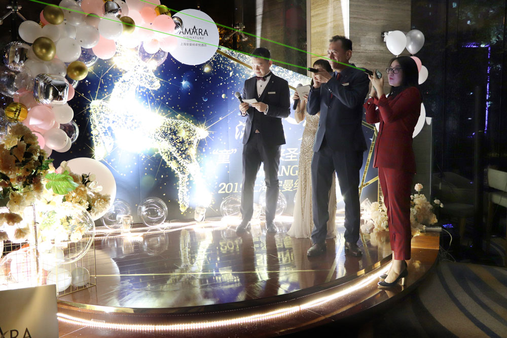 Amara Signature Shanghai Hosts Magical Christmas Lighting Ceremony
