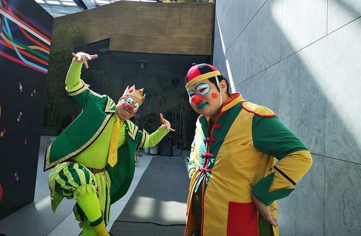 Meet the Clowns Bringing Laughter to China's Migrant Children