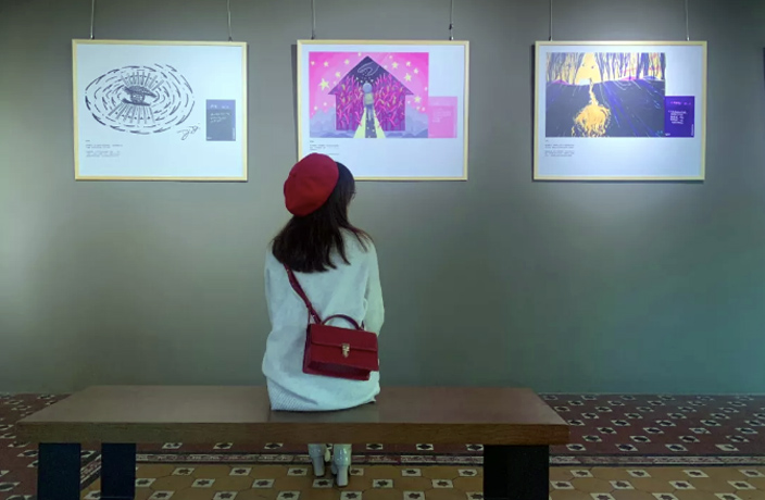 Coffee Meets Poetry at This Starbucks Art Show in Guangzhou