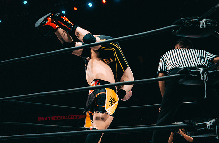 Spectacle and Spandex! Professional Wrestling Returns to Shenzhen