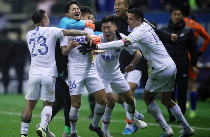 WATCH: Shanghai Shenhua Beat Shandong in Chinese FA Cup Final
