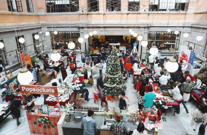 Give Back This Holiday Season at This Christmas Charity Market