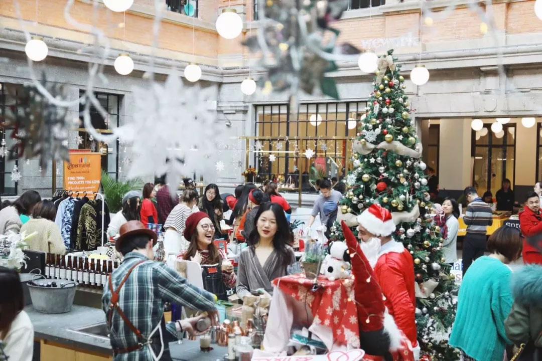 WeWork Christmas Market