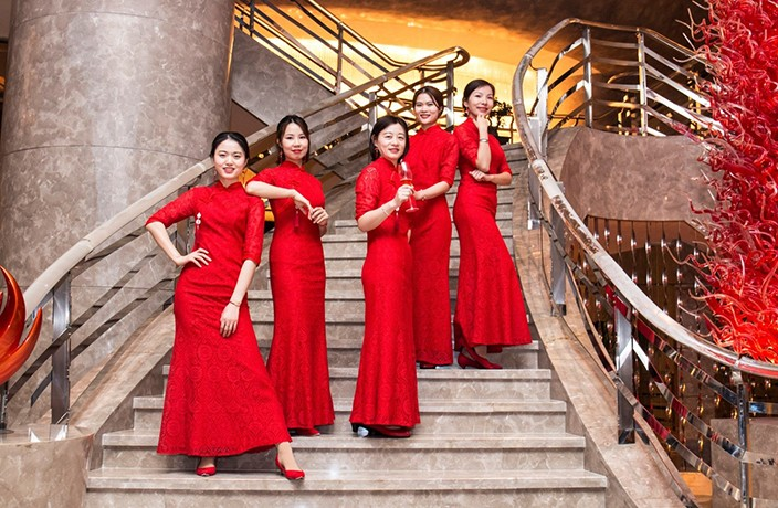 Kempinski Hotels Celebrates the 10th Anniversary of The Iconic Lady in Red