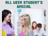 Student's Special at Catherine de France beauty and hair salon