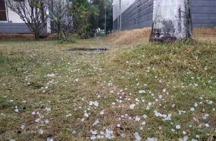 WATCH: Heavy Hail Hammers South China