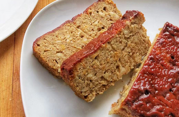 Vegan Meatless Loaf Recipe