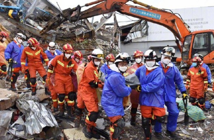 Death Toll Rises Following Tragic Hotel Collapse in China