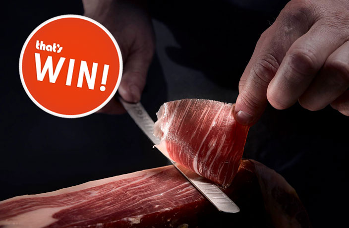 WIN! Jamón Ibérico Set from Carrasco