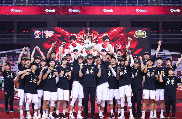 Guangdong Southern Tigers Earn 10th CBA Title in Win over Liaoning