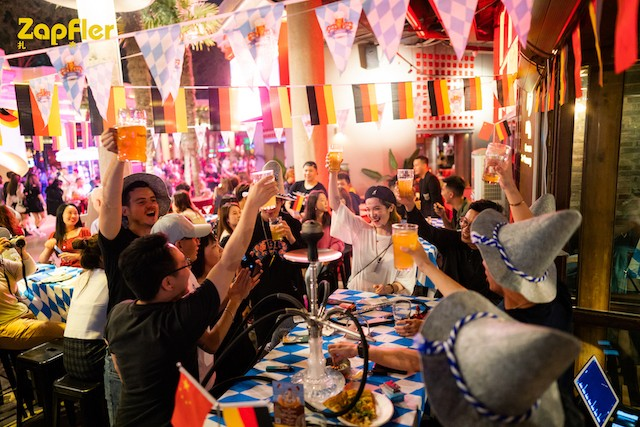 Last Call for German Beer, Food & Vibes at Zapfler's Oktoberfest