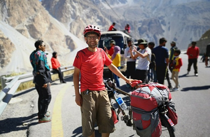 Meet the Man Who Cycled from Switzerland to Shanghai