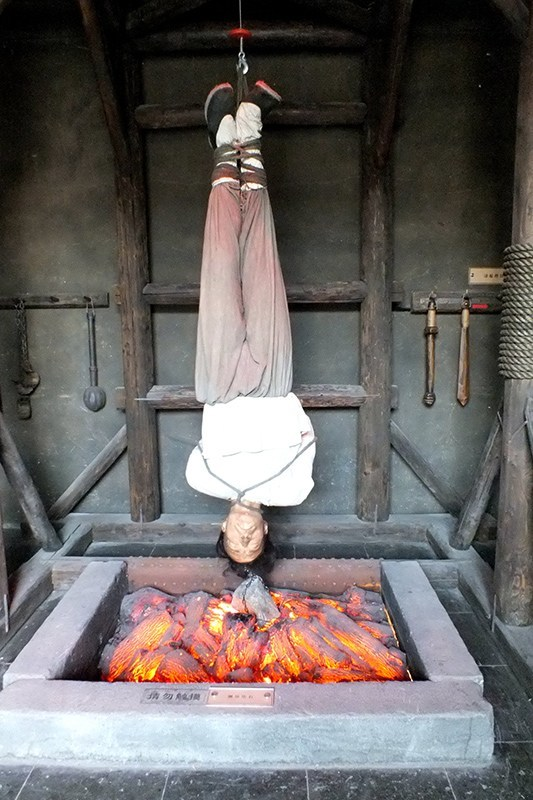 Photos Horrifying Ancient Torture Methods Exhibition
