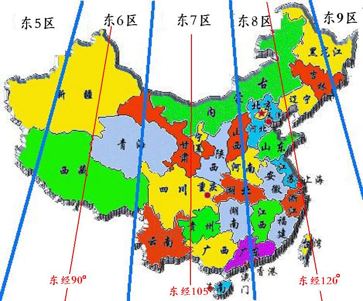 This Is What China Would Look Like If It Actually Followed Solar - China time zone map