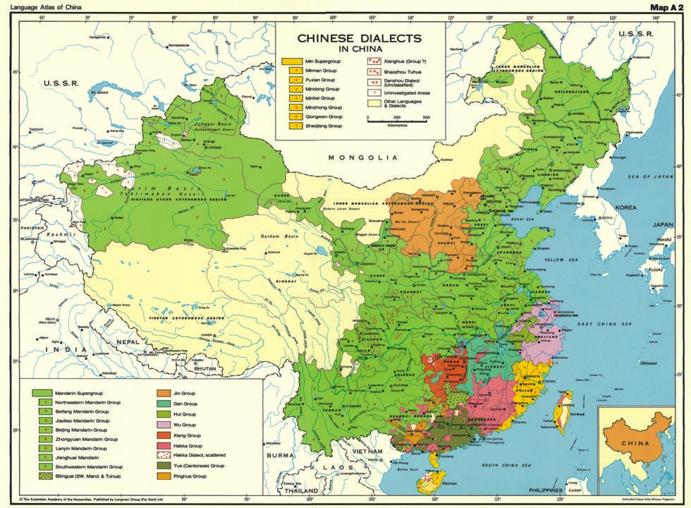 Linguistic Map Of China.68 Provinces 68 Languages What China Might Ve Looked Like If The