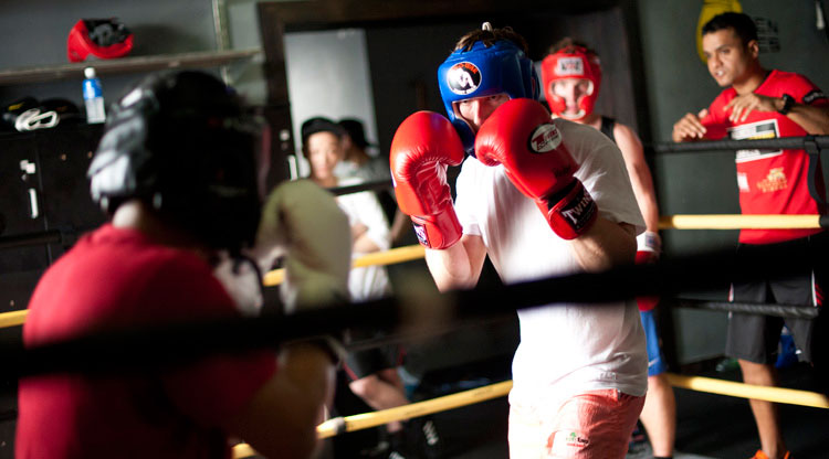 Golden Gloves boxing bootcamp Shanghai