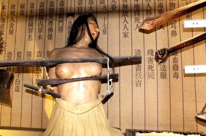Breast torture in china