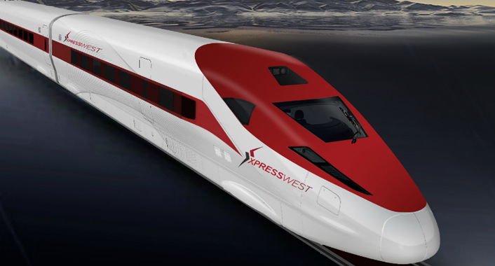 Chinese high-speed train to link LA and Las Vegas