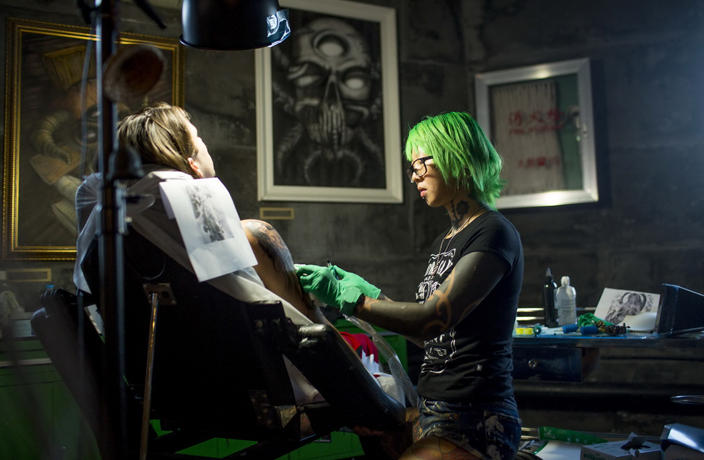 Shanghai Inked: The Artists Redefining Tattoos in China