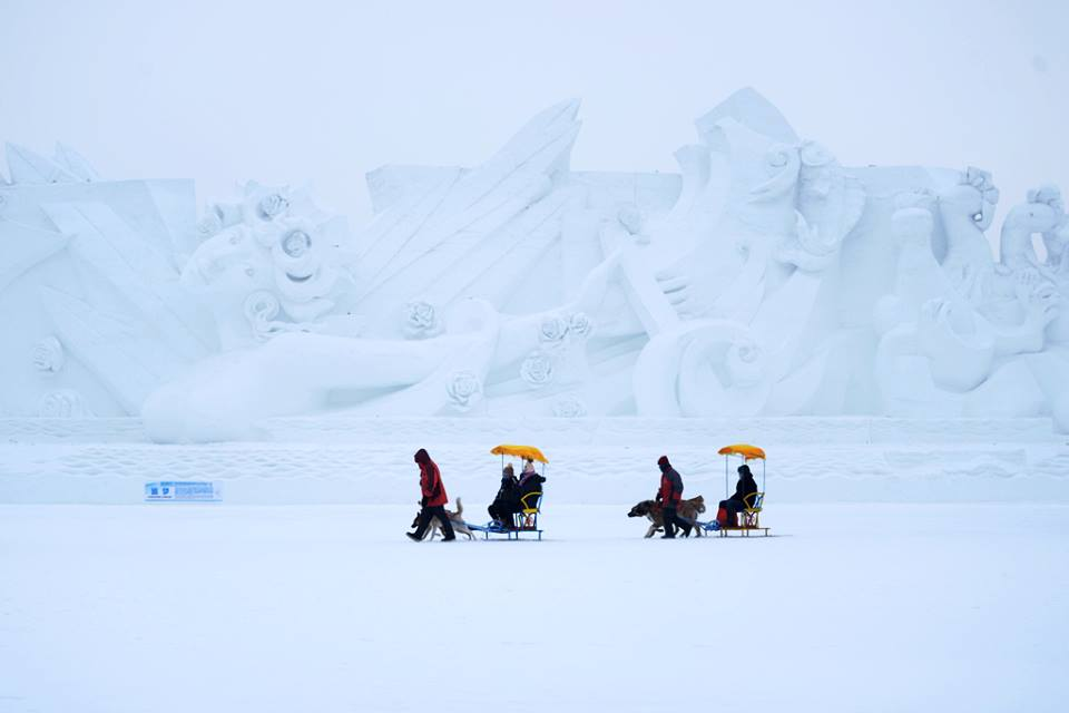 Harbin Sun Island International Snow Sculpture Art Fair
