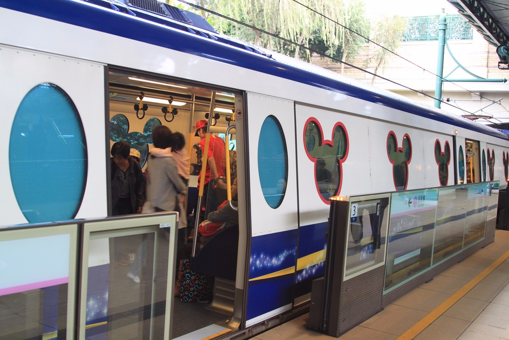 Photos Shanghai Disney Resort S New Metro Station That