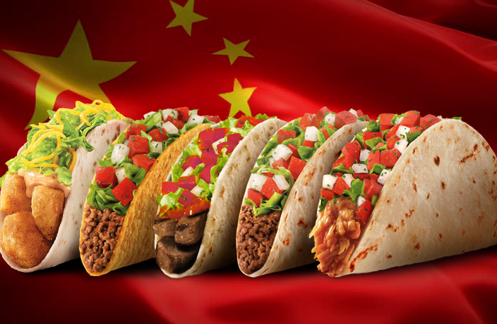 Taco bell is coming to china again that s shanghai for Fast food places open on christmas day