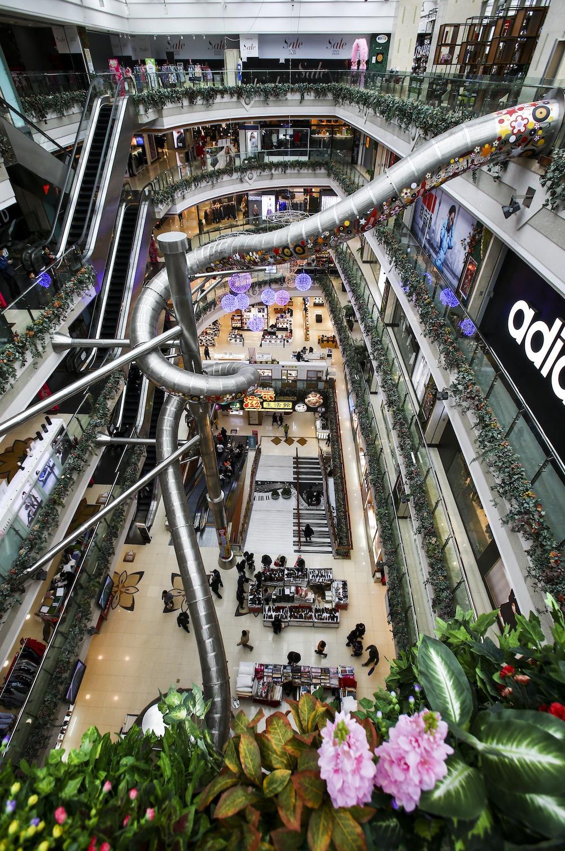 Slide Shanghai Mall