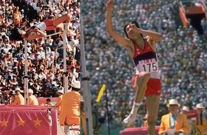 This Day in History: Zhu Jianhua Sets High Jump Record