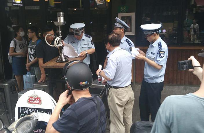 Eviction notices Yongkang Lu