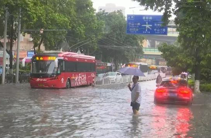 Guangzhou Just Broke a 67-Year Rainfall Record
