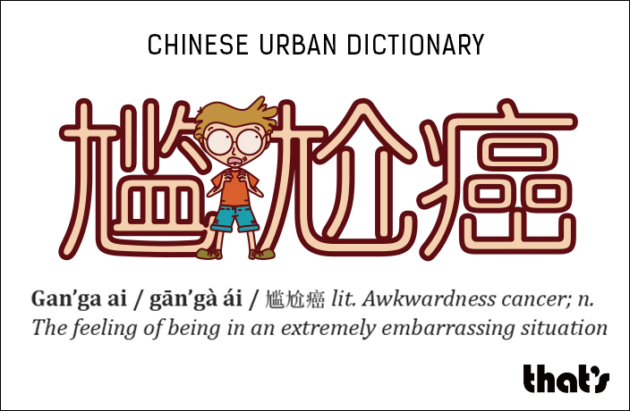 Chinese urban dictionary gan 39 ga ai for Lit urban dictionary