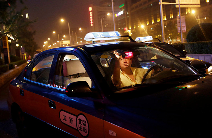 Revealed: Why Beijing's Taxi Drivers Turn Down Paying Customers