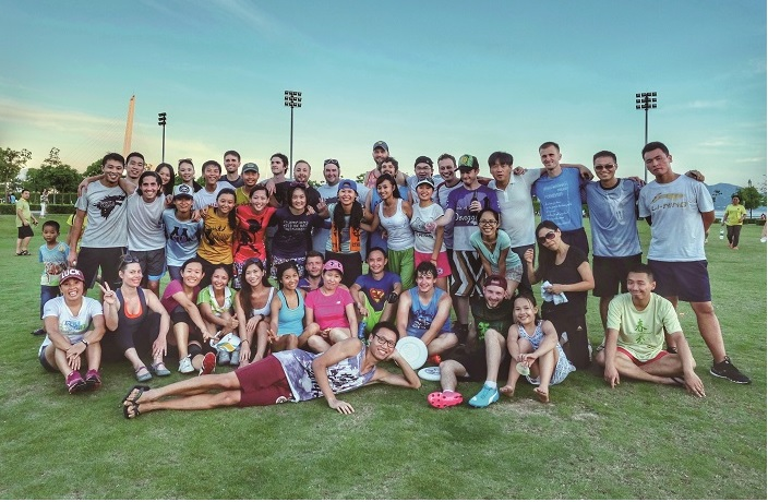 Social Skills: ​The Shenzhen Ultimate Frisbee Association