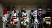 Meet the Chinese Musician Who is Nuts About Festive Nutcrackers