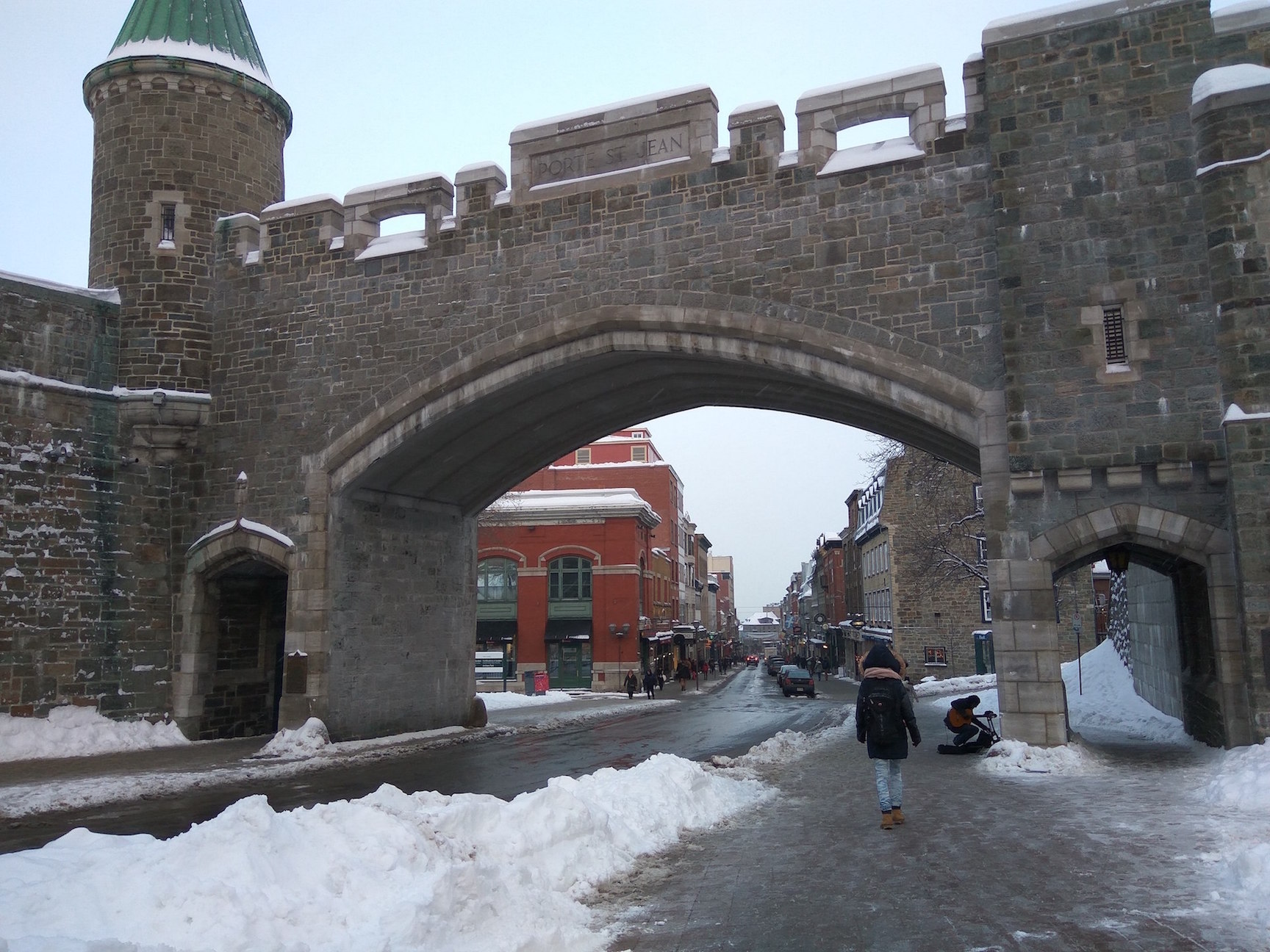 old quebec wall