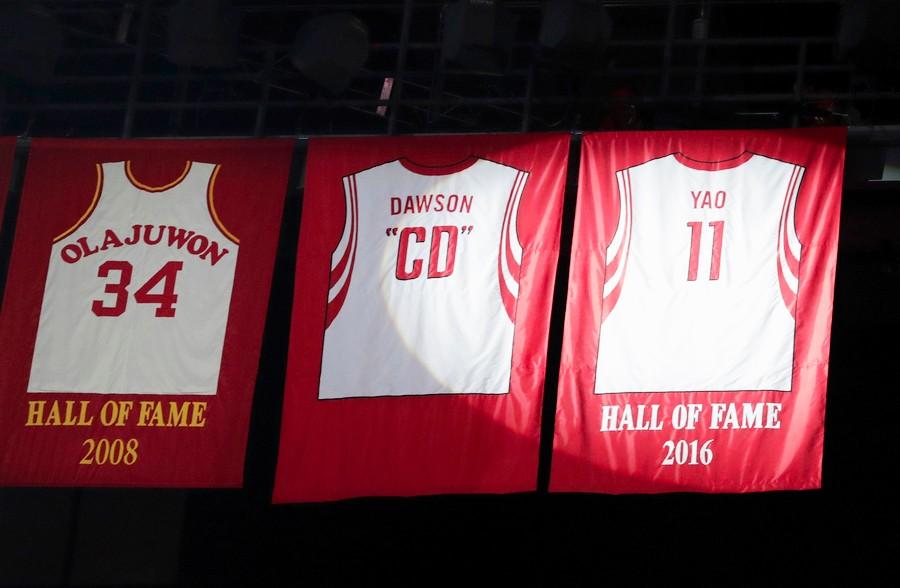 100% authentic b053e 4d3fb WATCH: Houston Rockets Retire Yao Ming's No. 11 Jersey ...