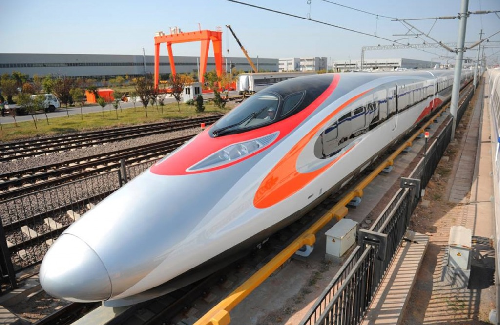 High-Speed Train to Cut Guangzhou-Hong Kong Journey to 48 Minutes