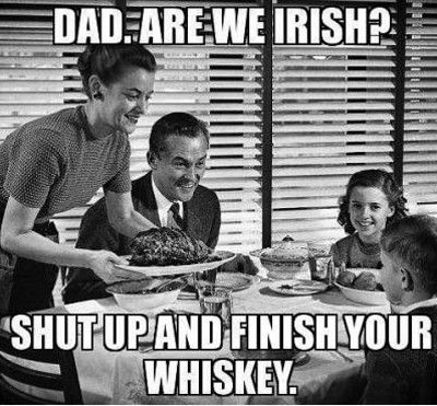 Irish whiskey meme