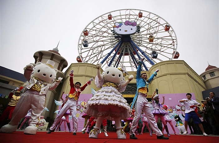 Largest Hello Kitty Indoor Theme Park Coming to Shanghai in 2018
