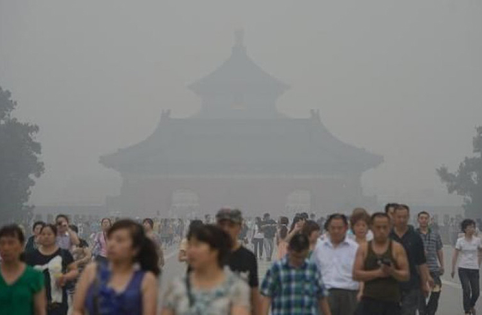 High Temperatures Cause Hazardous Ozone Pollution to Rise in Beijing