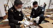Crack Cocaine Hidden in Frozen Mackerel Seized in Shanghai
