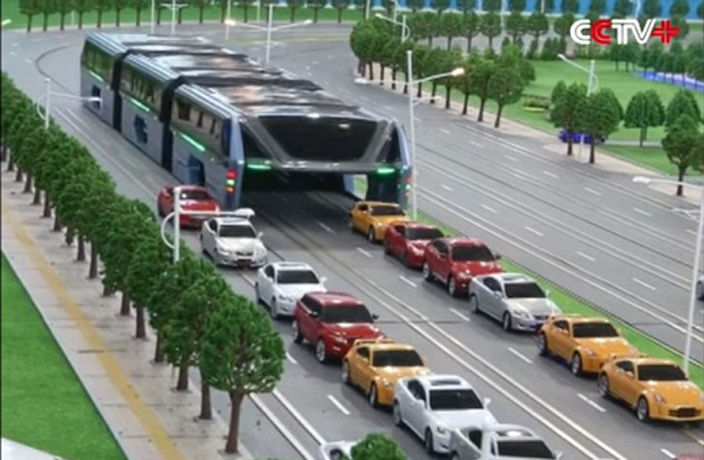 Beijing's Straddling Bus Was Just a Scam