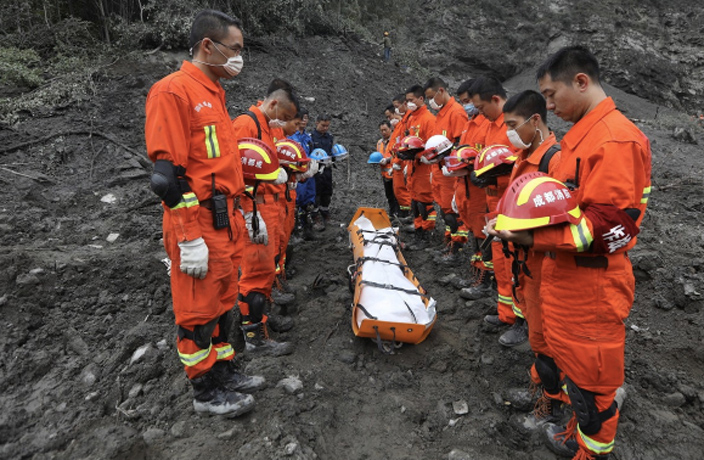 Over 90 People Still Missing After Sichuan Landslide
